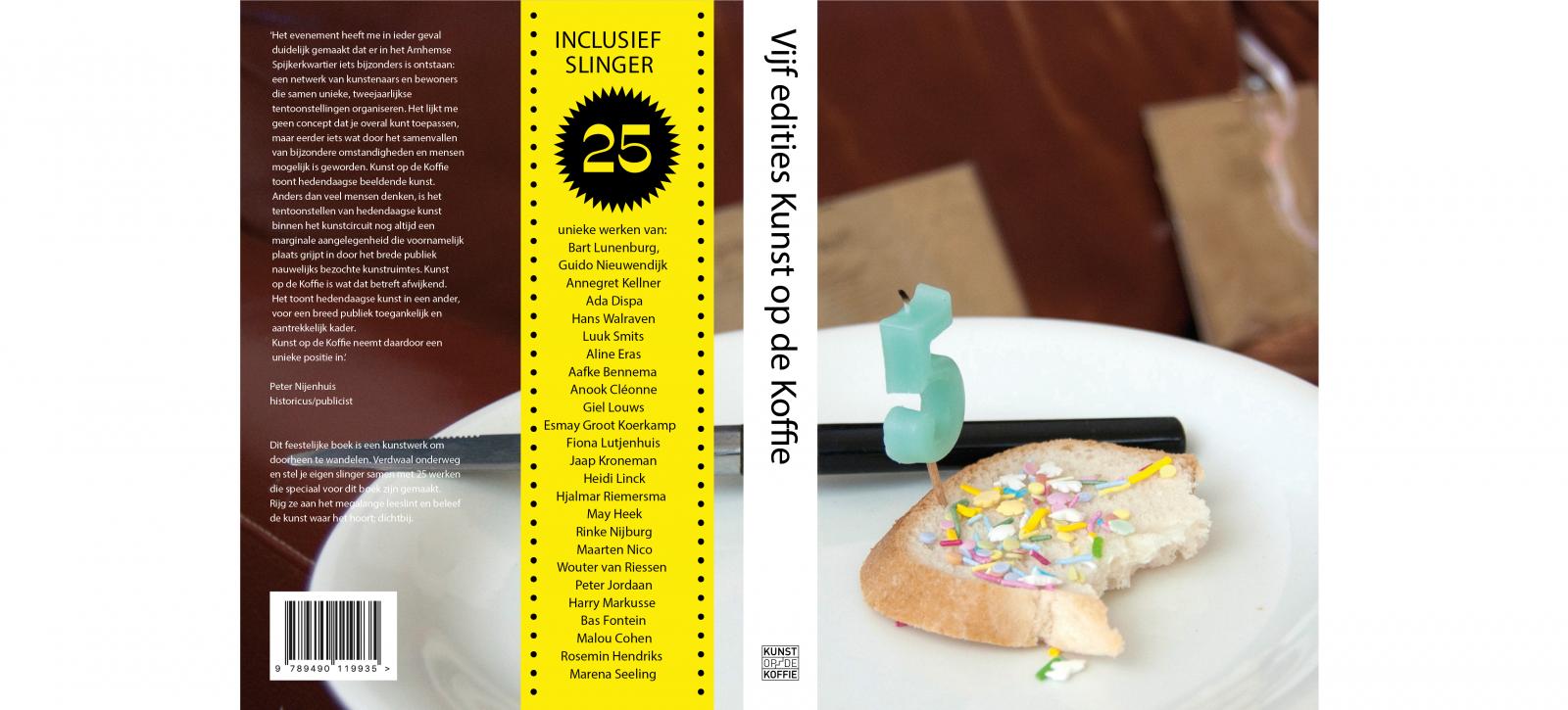 Vijf edities Kunst op de Koffie